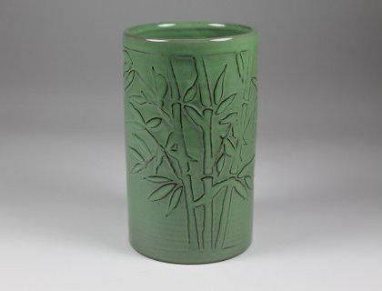 Bamboo Vase Lowell Hill Pottery