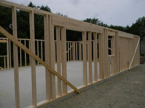Wall Framing Day 1